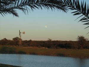 IMG 1223 - Maan en windmolen bij Lake Grappa