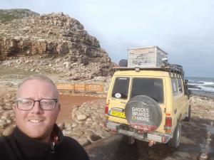 20170715 154428 - Bjorn bij Kaap De Goede Hoop