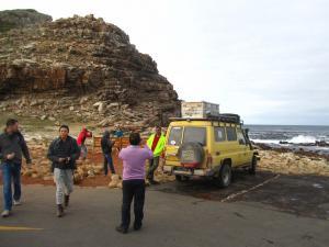 IMG 1552 - Belangstelling voor de kanarie bij Kaap De Goede Hoop