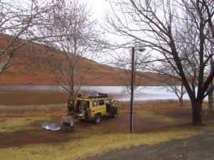IMG 3569 - Kampje bij Mount Currie Nature Reserve
