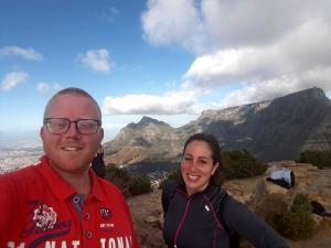 20170825 154453 - Selfie met Rawen op top Lions Head Kaapstad