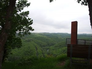 Mooi uitzicht vanaf de Achterhöhe
