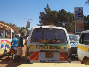 P1059532 - Opmerkelijke naam matatu busje