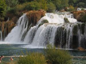 P9120610 - Watervallen in Krka NP