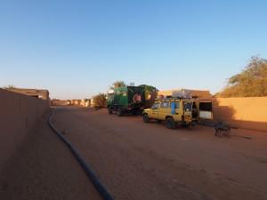 PA274449 - Overnachten voor de deur van Sudanese fixer in Wadi Halfa