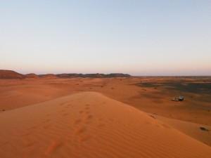 PB025085 - Desert camp bij Meroë