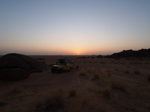 PB045319 - Desert camp tussen Meroe en Khartoum