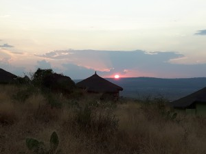 20161126 175517 - Zonsondergang 10000 Flamingos Lodge