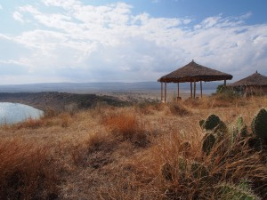 PB277344 - Uitzicht vanaf 10000 Flamingos Lodge