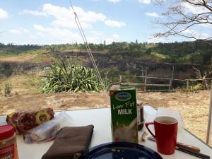 20170121 134147 - Lunch met uitzicht op Sipi Falls