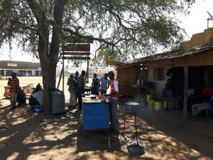 20170123 104326 - Chapati's worden ter plaatse bereid