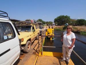 P1271401 - Ferry Murchison Falls NP