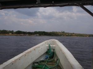 P1271435 - Boottocht naar waterval Murchison Falls NP