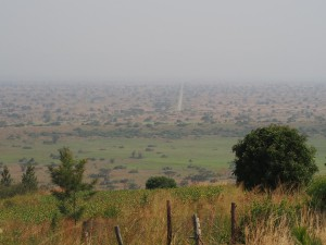 P2051981 - Uitzicht op QENP Simba Safari Camp