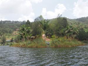 P2092287 - Kampje gezien vanuit boomstamkano