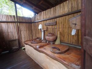 P3053880 - Toilet bij Lukwe Lodge