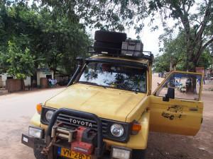 P3305803 - Heroen in kanarie, Mfuwe