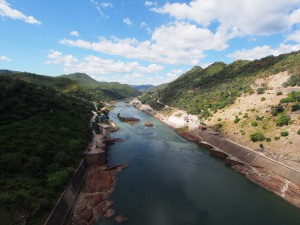 P4126156 - Uitzicht vanaf Kariba dam