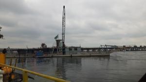 20170423 112428 - Kazungula ferry en brug