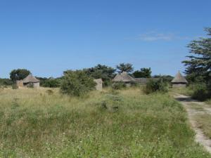 IMG 4376 - Dorpje onderweg door Caprivi strip