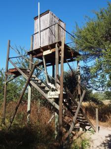 P5017601 - Orignele wc in Ngepi Camp