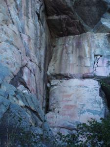 P5027685 - Rotstekeningen Tsodilo Hills