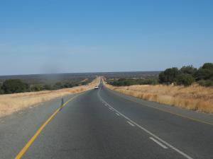 P5260440 - Rijden door de Kalahari, Botswana
