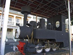 IMG 0160 - Locomotief bij station Windhoek