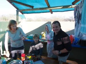 P6232165 - vlnr Judith, Ruben, Hannah en Jochen
