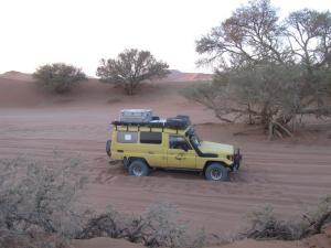 IMG 0326 - Vast in het zand van Sossusvlei