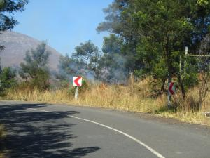 IMG 2836 - Brand onderweg naar Swaziland