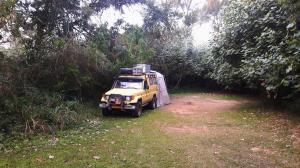 20170812 161145 - Kampje in Sugarloaf Camp St. Lucia